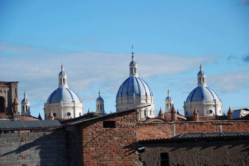 Cuenca church royalty free stock photos