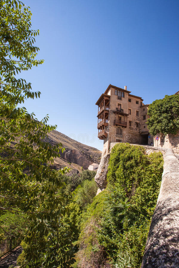 Download Cuenca City stock image. Image of ravine, spain, security - 27991755