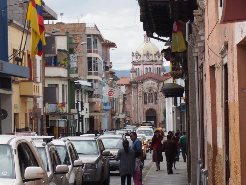Cuenca, Ecador fotografia de stock