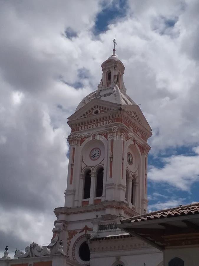 Cuenca iglica obrazy royalty free