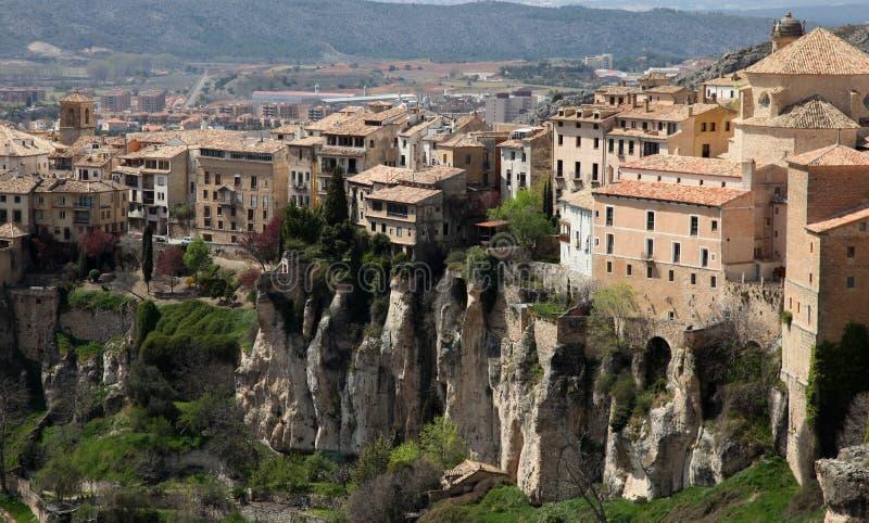 Cuenca - la Spagna fotografia stock libera da diritti