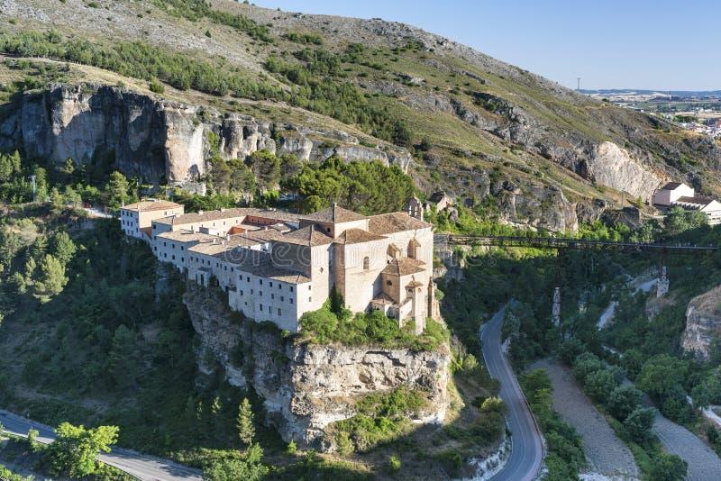 Cuenca Spagna, convento di San Pablo fotografia stock libera da diritti