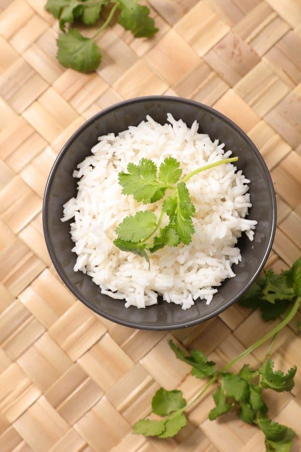 Cuenco de arroz imágenes de archivo libres de regalías