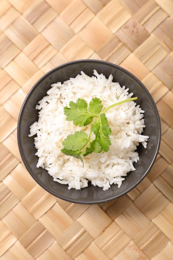 Cuenco de arroz fotografía de archivo
