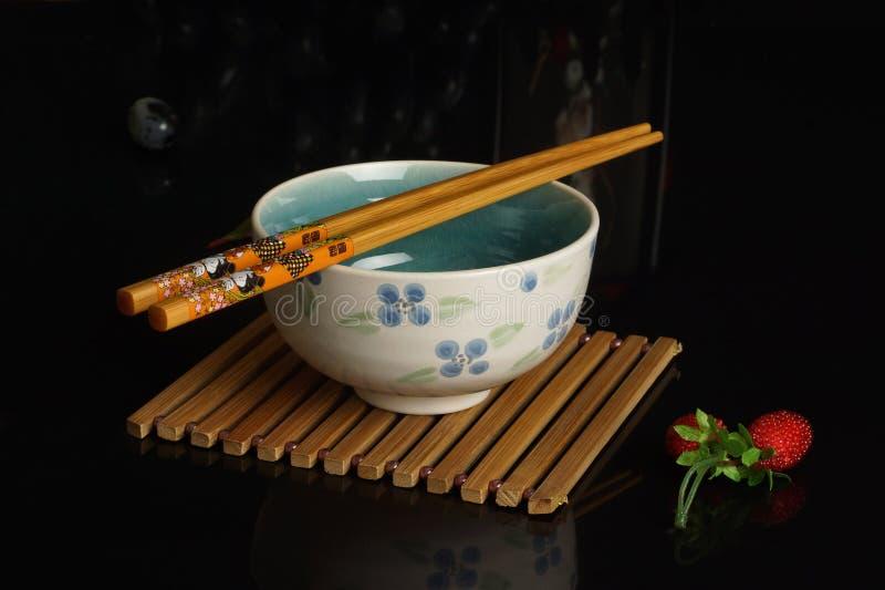 Cuenco de arroz foto de archivo libre de regalías