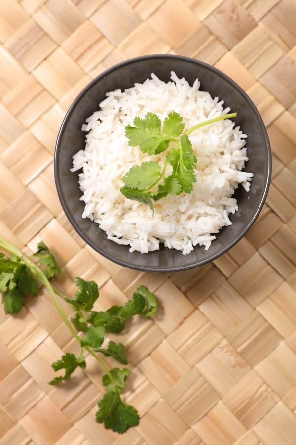 Cuenco de arroz imagen de archivo libre de regalías