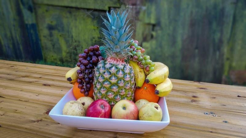 Cuenco de frutas fotografía de archivo
