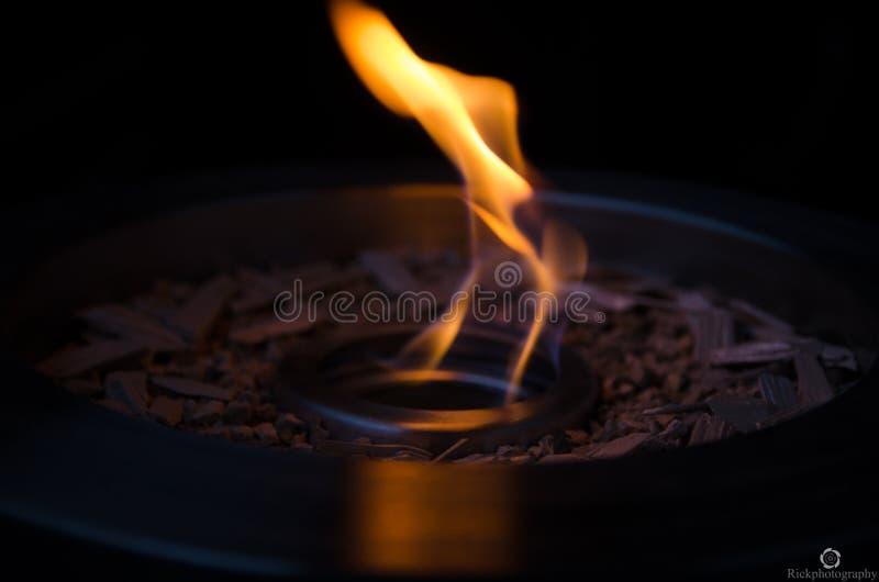 Cuenco de fuego fotos de archivo