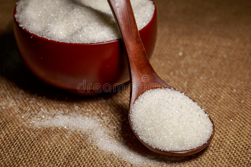 Download Cuenco Lleno De Azúcar-macro Imagen de archivo - Imagen de macro, diabetes: 42438527