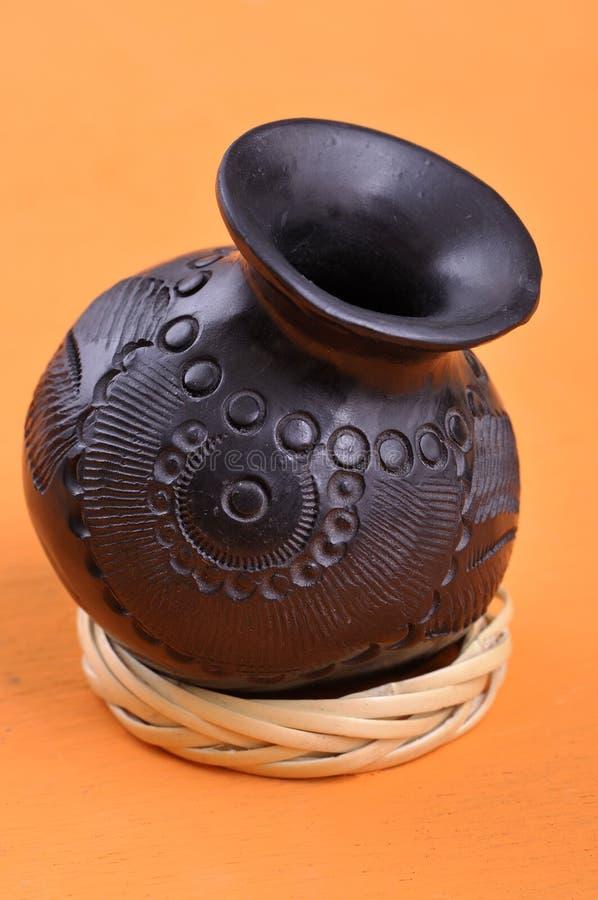 Cuenco mexicano de la artesanía de Oaxaca fotos de archivo libres de regalías