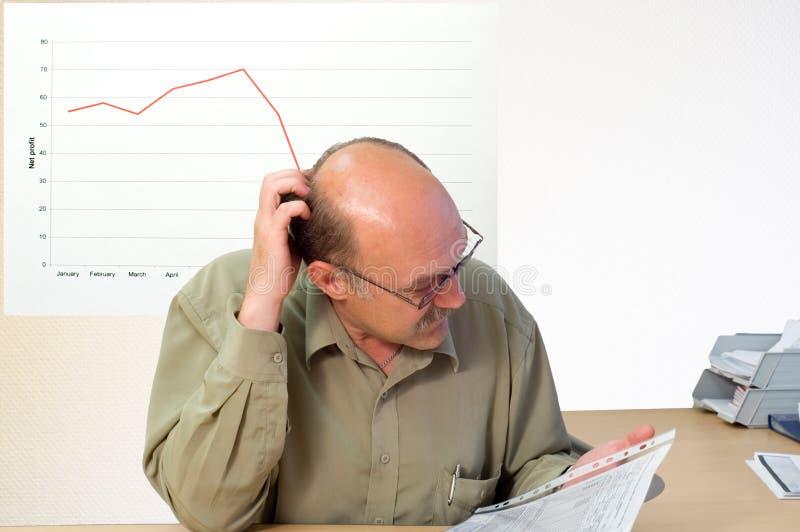 Cuenta financiera foto de archivo