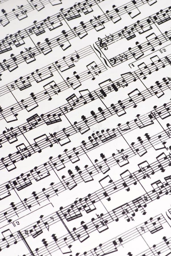 Cuenta musical imágenes de archivo libres de regalías
