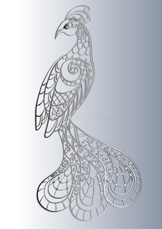 Cuento blanco y negro del invierno libre illustration