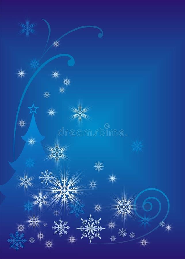 Download Cuento De Hadas 10 De La Navidad Ilustración del Vector - Ilustración de fondo, azul: 7284583