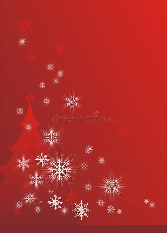 Cuento de hadas 2 de la Navidad ilustración del vector