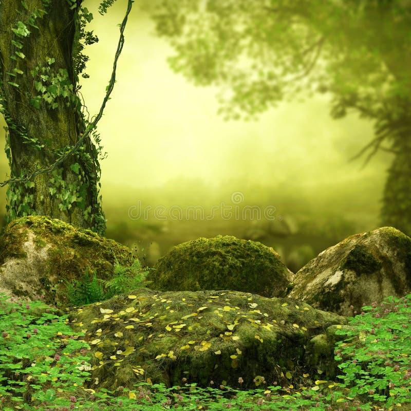 Cuento de hadas mágico Forest Opening imagen de archivo libre de regalías