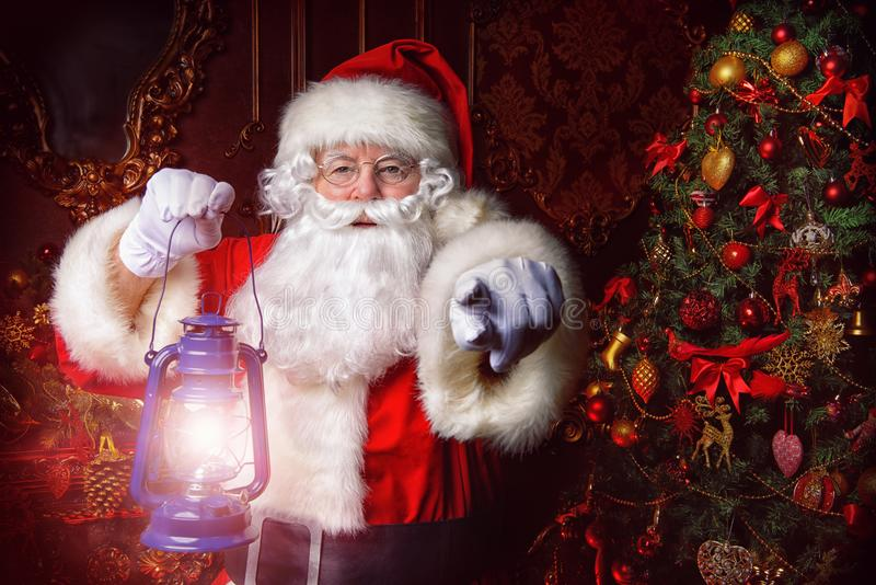 Cuento de hadas Papá Noel imagen de archivo libre de regalías