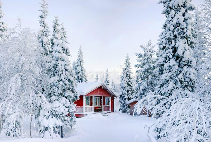Cuento del invierno. imagenes de archivo