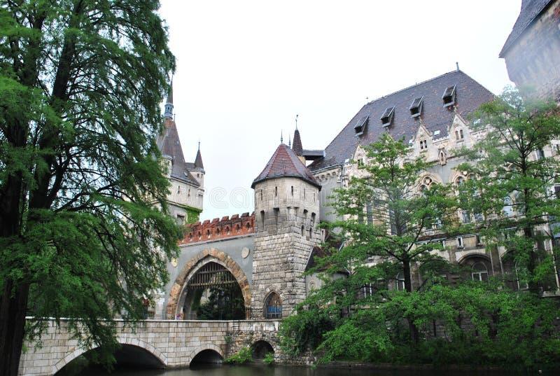 cuento hermoso del misterio de la historia del castillo fotografía de archivo