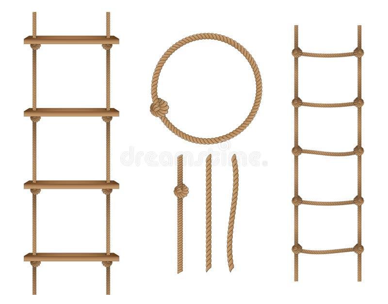 Cuerda stock de ilustración