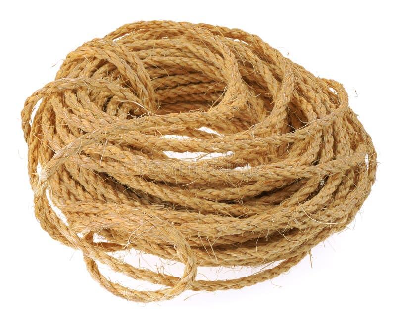 Cuerda aislada imagen de archivo