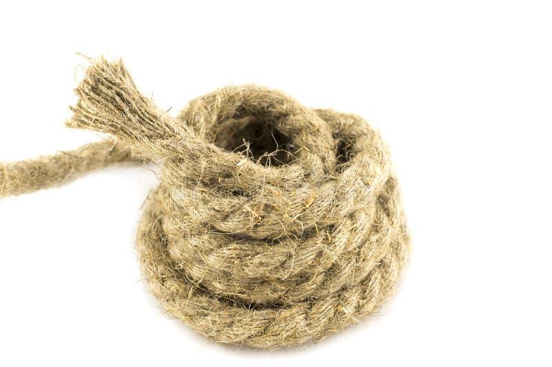 Cuerda aislada imagen de archivo libre de regalías