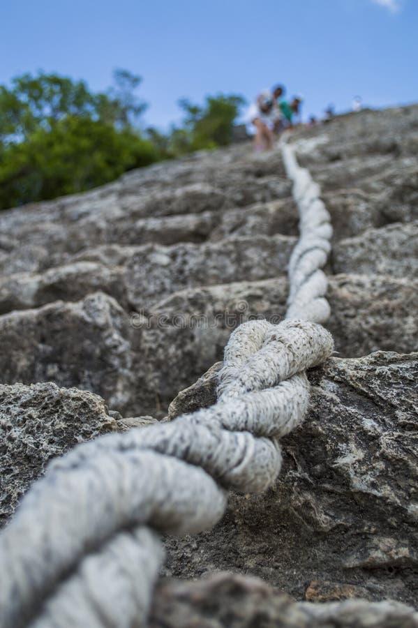 Cuerda ascendente imagenes de archivo