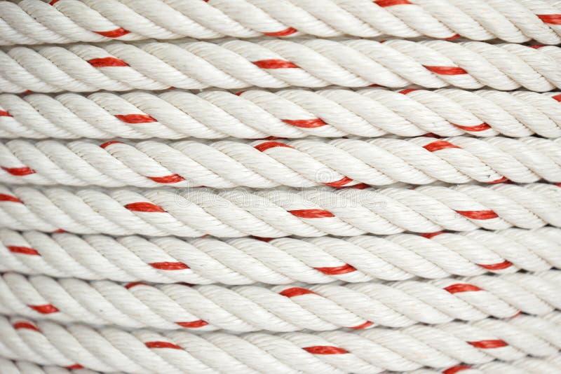 Cuerda del polipropileno imagen de archivo