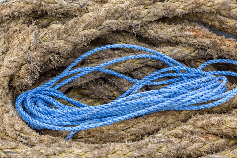 Cuerda en espiral fotografía de archivo libre de regalías