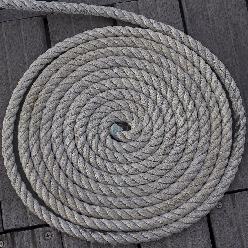 Cuerda en espiral imagen de archivo