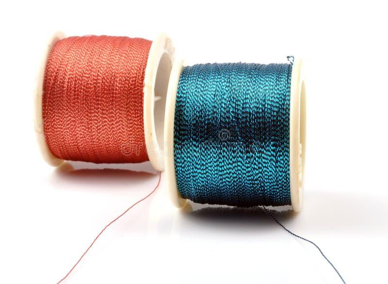 Cuerdas de rosca foto de archivo