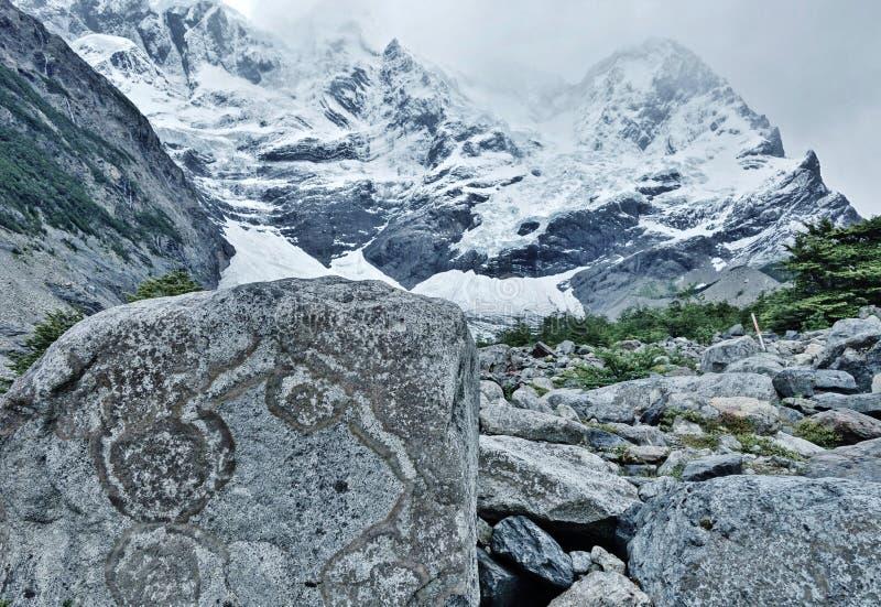 Cuernos del Paine royalty free stock photo