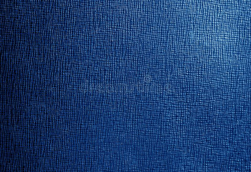 Cuero con el modelo abstracto en color de los azules marinos foto de archivo