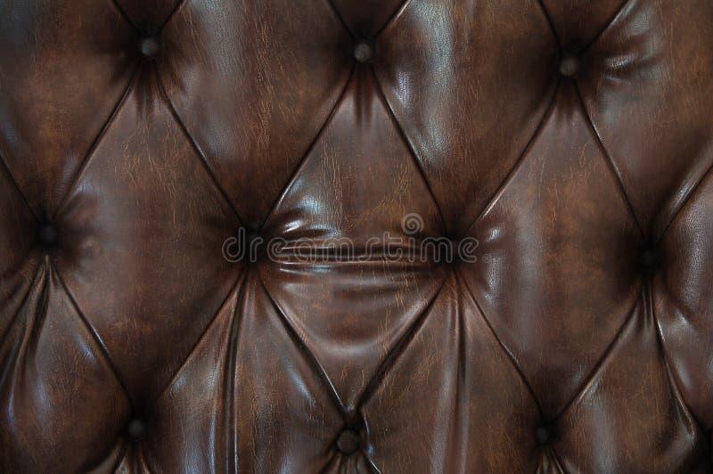 Download Cuero de Brown foto de archivo. Imagen de fondo, sofá, material - 186316