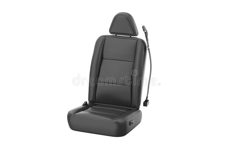 Cuero del asiento de carro ilustración del vector