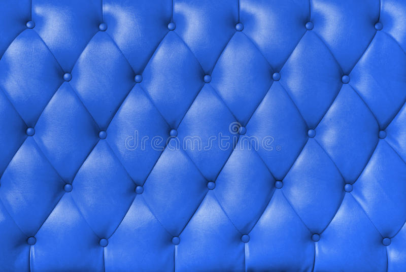 Cuero del azul de la felpa imágenes de archivo libres de regalías