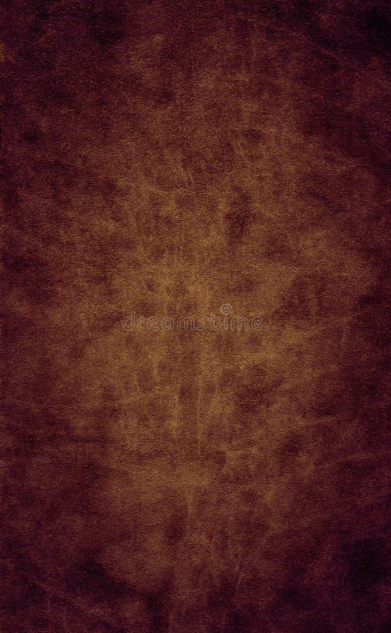 Cuero liso de Brown fotografía de archivo libre de regalías