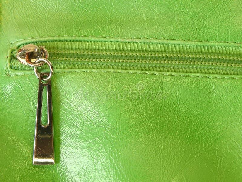 Cuero verde imagen de archivo libre de regalías