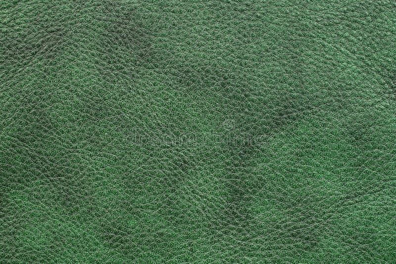 Cuero verde oscuro imagenes de archivo