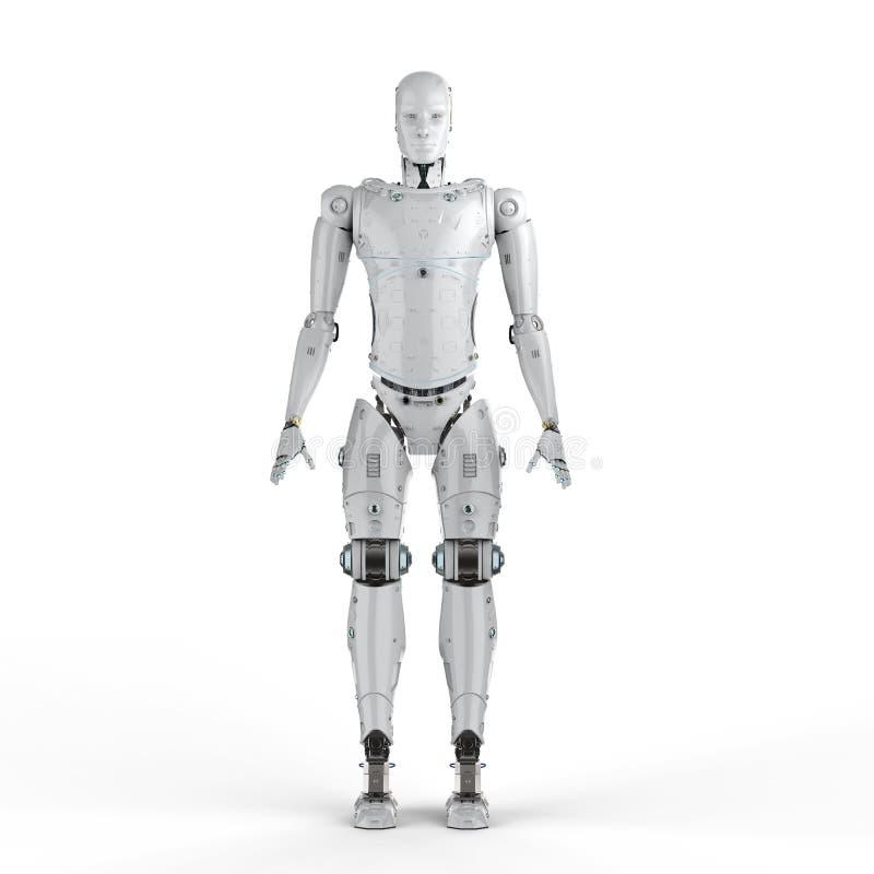 Cuerpo completo del robot libre illustration