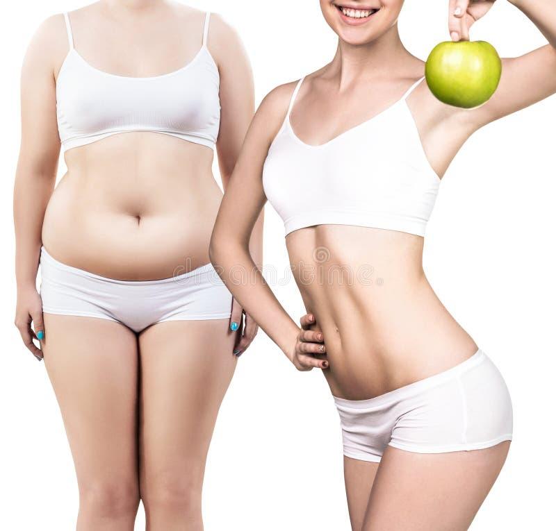 pérdida de peso en la cinta antes y después