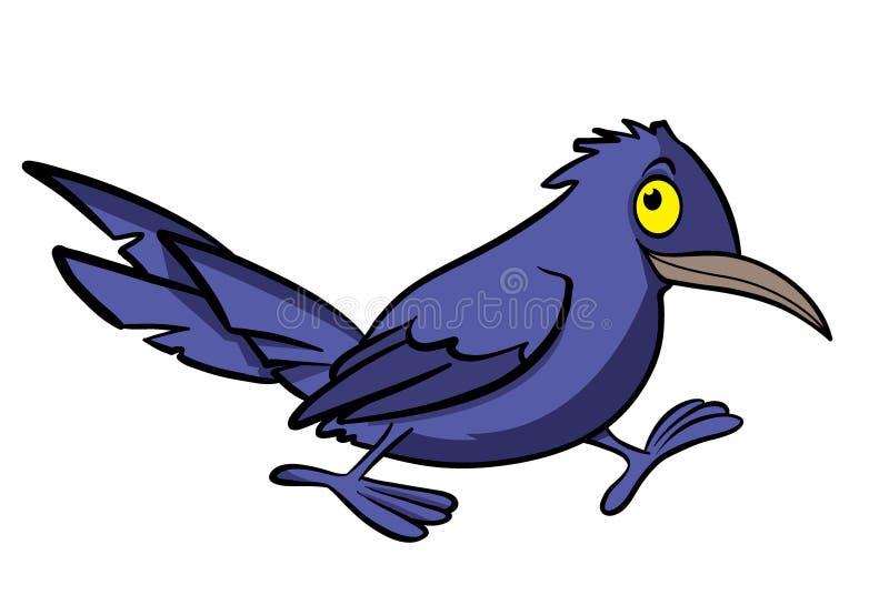Cuervo de la historieta libre illustration