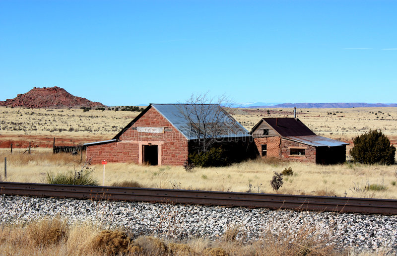 Download Cuervo on route 66 stock image. Image of railroad, baptist - 7927605