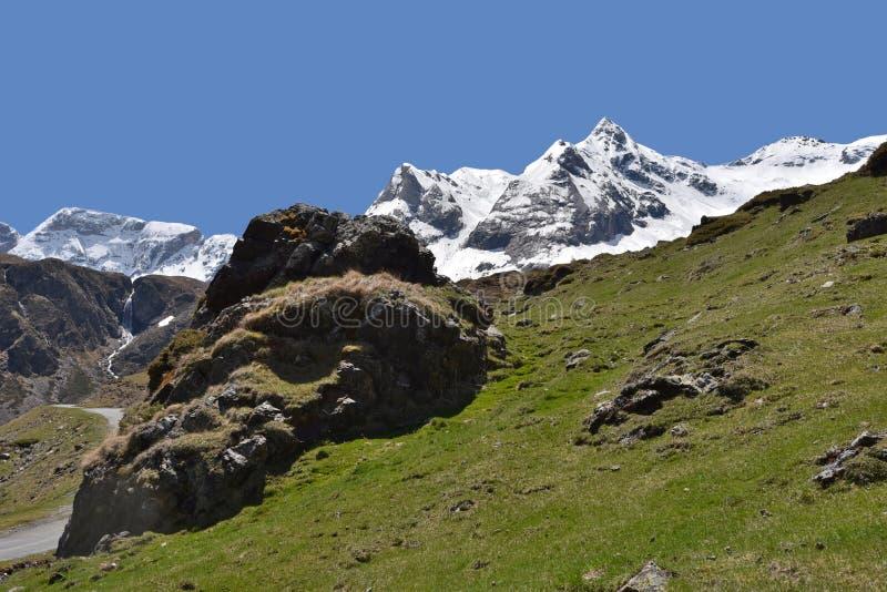 Cuesta de montaña en la meseta Maillet imágenes de archivo libres de regalías
