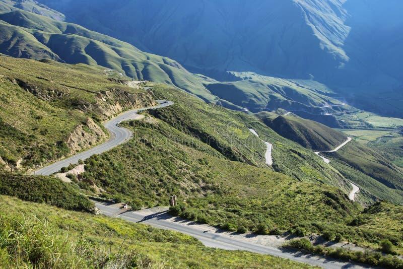 Cuesta del Obispo, Salta, Argentina. Bishop slope (Cuesta del Obispo) in famous route 40, salta Argentina stock photography