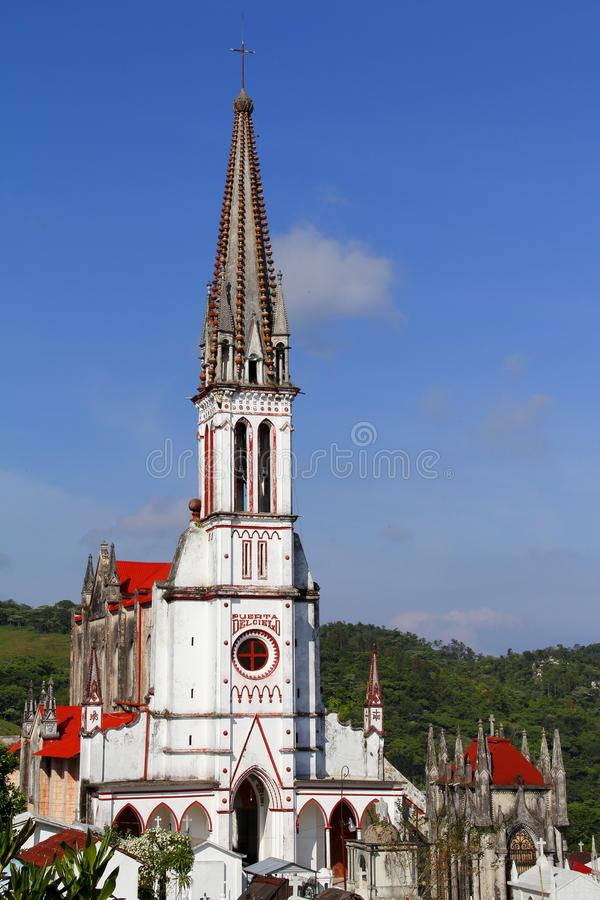 Download Cuetzalan cemetery II stock image. Image of church, chapels - 22241389
