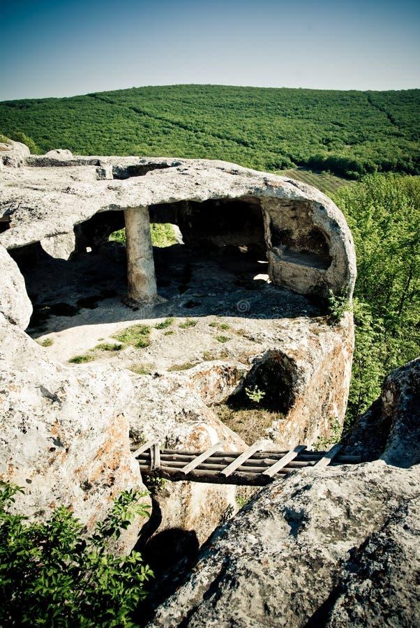 Cueva antigua foto de archivo libre de regalías