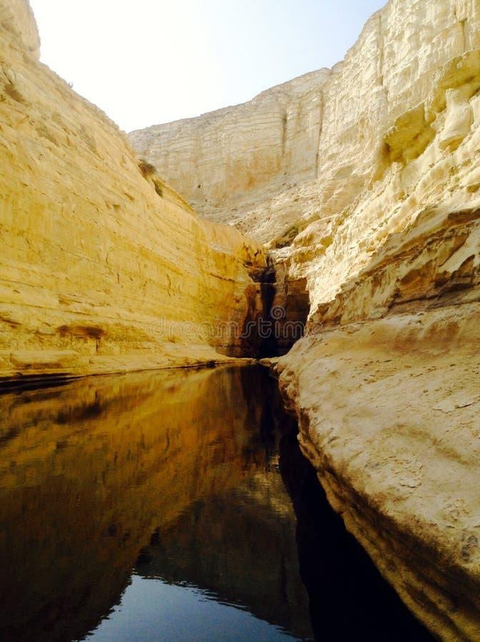 Cueva cerca de Masada, Israel imágenes de archivo libres de regalías