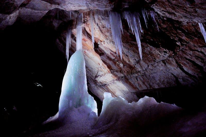 Cueva de hielo de Dachstein imagen de archivo libre de regalías