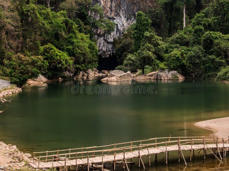 Cueva de Konglor fotografía de archivo libre de regalías